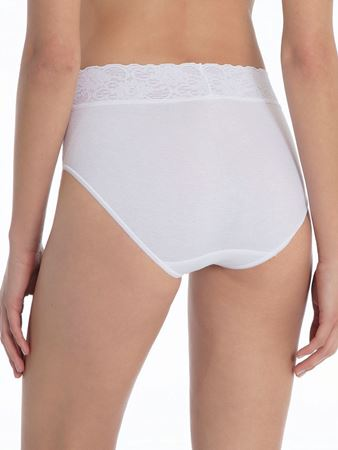 Bilde av Calida 'LYCRASPITIZE' midi brief, white