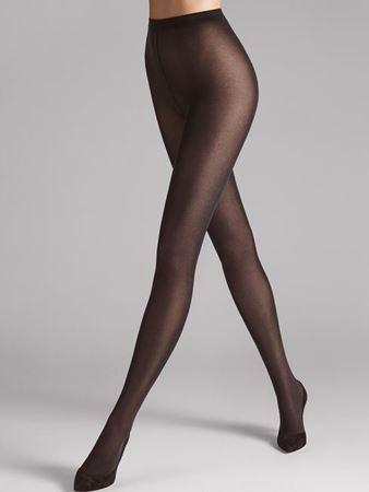 Bilde av Wolford 'VELVET DE LUXE 50' strømpebukse, nearly black