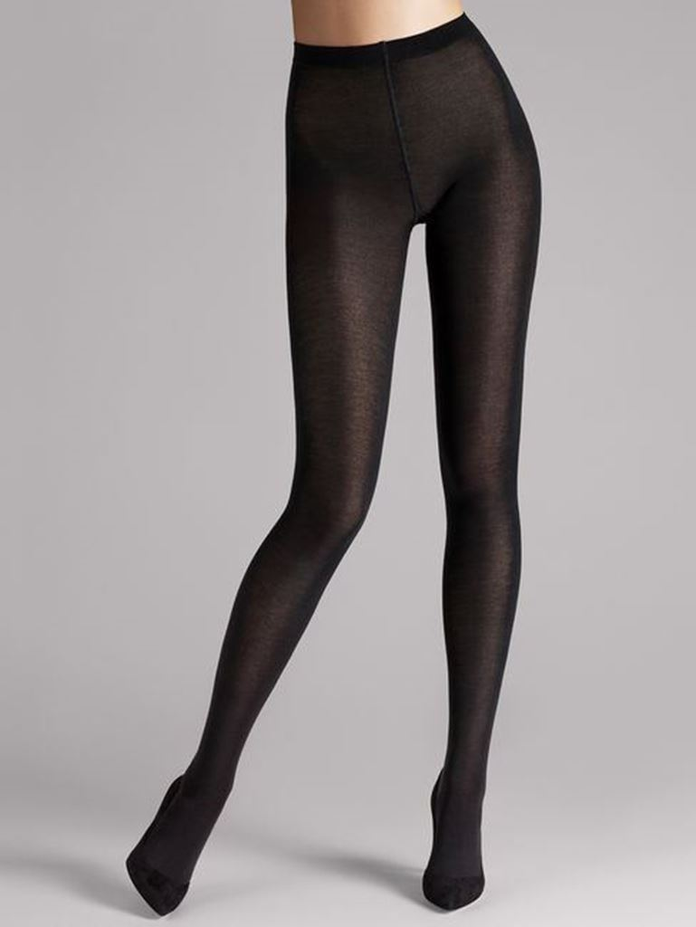 Bilde av Wolford 'MERINO' strømpebukse, black