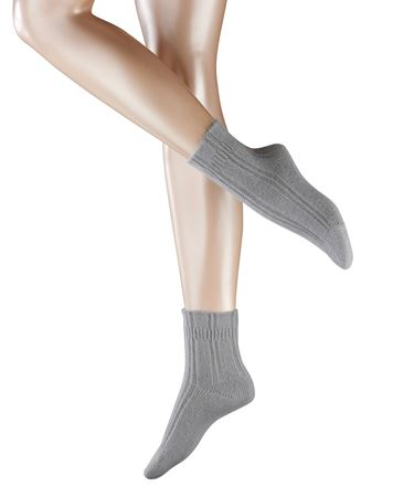 Bilde av Falke 'BEDSOCKS' strømper, light grey