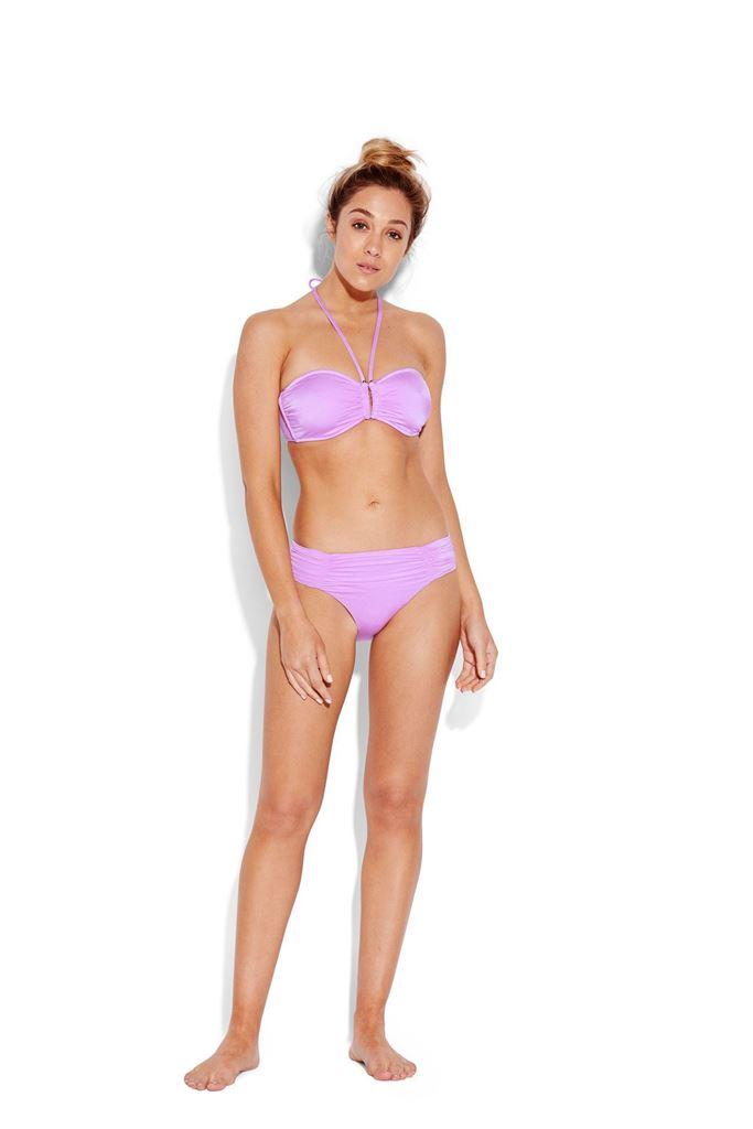 Bilde av Seafolly 'SHINE ON BANDEAU' bikinioverdel, lilac