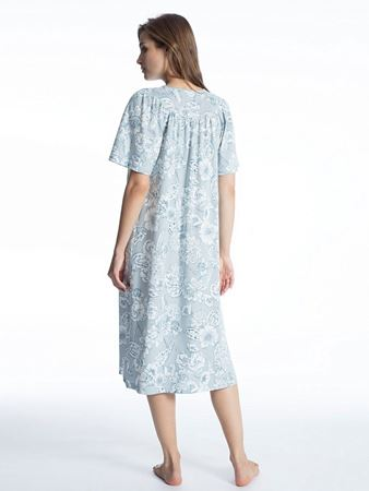 Bilde av Calida 'SOFT COTTON' nattkjole, summer blue