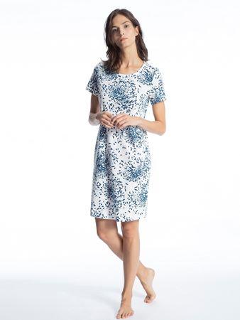 Bilde av Calida 'COSY CHOICE' nattkjole, poseidon blue