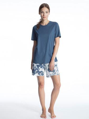 Bilde av Calida 'SOFT JERSEY FUN' pysjamas, nimes blue