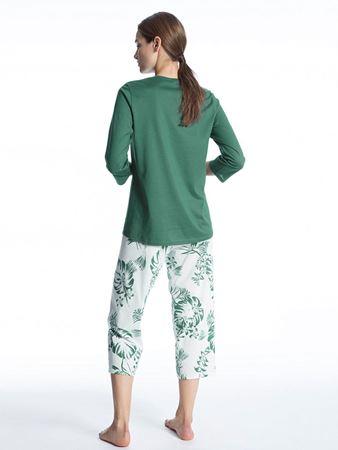 Bilde av Calida 'SOFT JERSEY FUN' pysjamas, mallard green