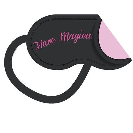 Bilde av Magic 'MAGIC EYE-MASK' 2pk  sovemaske, black/pink