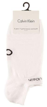 Bilde av Calvin Klein 'PERFORMANCE COOLMAX' 2PK strømper, white