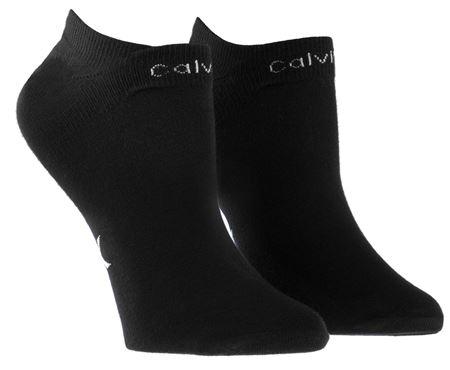 Bilde av Calvin Klein 'PERFORMANCE COOLMAX' 2PK strømper, black