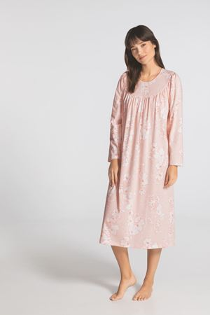 Bilde av Calida 'SOFT COTTON' nattkjole, rose water