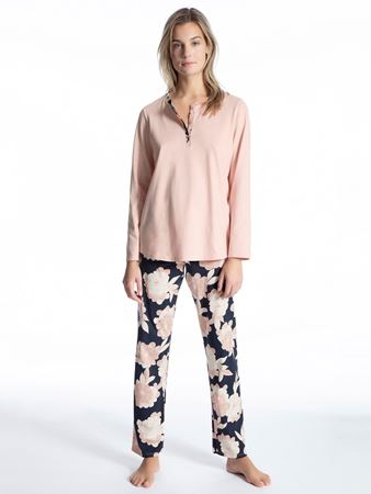 Bilde av Calida 'SOFT JERSEY FUN' pysjamas, peach rose