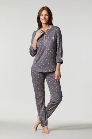 Bilde av Ringella 'LINGERIE' pysjamas, kullgrå