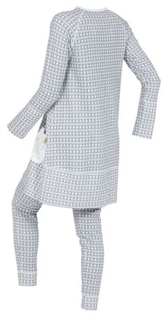 Bilde av Lilleba 'GJERTRUD SETT' pysjamas, grå skifer