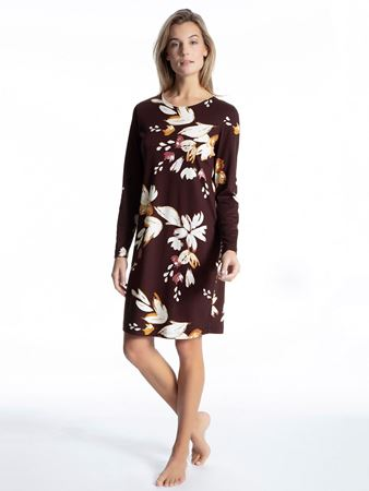 Bilde av Calida 'COSY CHOICE' nattkjole, black cherry