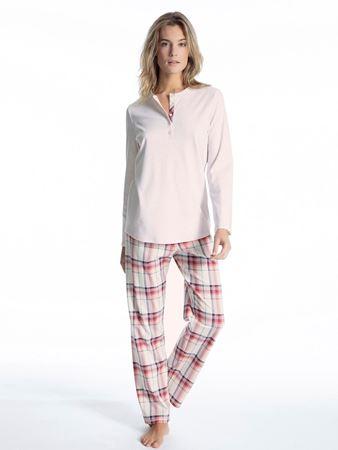 Bilde av Calida 'SOFT FLOWERS' pysjamas, pearl rose melé
