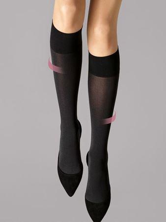 Bilde av Wolford 'INDIVIDUAL 50 LEG SUPPORT' knestrømper, black