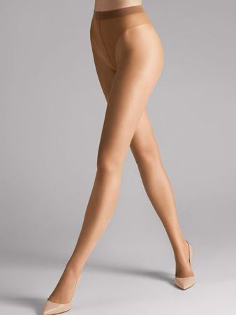 Bilde av Wolford 'LUXE 9 TIGHTS' strømpebukse, honey