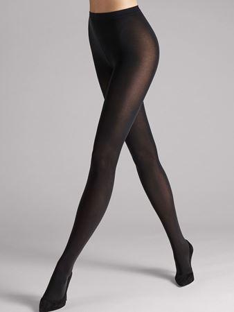 Bilde av Wolford 'VELVET DE LUXE 66' strømpebukse, black