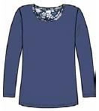 Bilde av Damella 'FLOWER' pysjamas, indigo