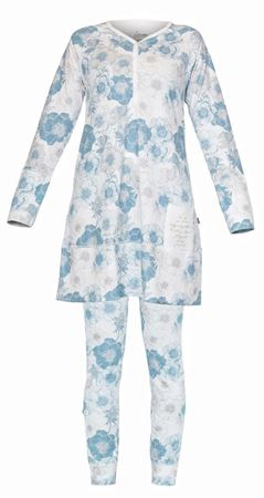 Bilde av Lilleba 'GJERTRUD SETT' pysjamas, botanikk pudder