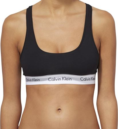 Bilde av Calvin Klein 'MODERN COTTON' bralette, black