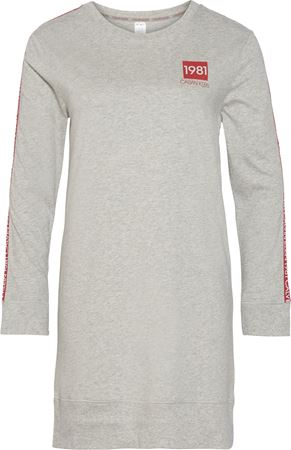 Bilde av Calvin Klein '1981 BOLD LOUNGE' nightshirt, grey heather
