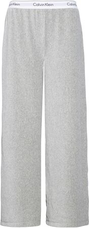 Bilde av Calvin Klein 'MC VELOUR RIB' bukse, grey heather