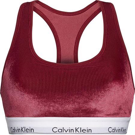 Bilde av Calvin Klein 'MC VELOUR RIB' bralette, raspberry jam