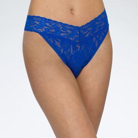 Bilde av Hanky Panky 'ORIGINAL THONG' string, sapphire blue