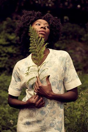 Bilde av Lilleba 'GODIVA' nattkjole, botanikk pudder