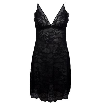 Bilde av Lise Charmel 'FEMINITE DENTELLE' nightie, black