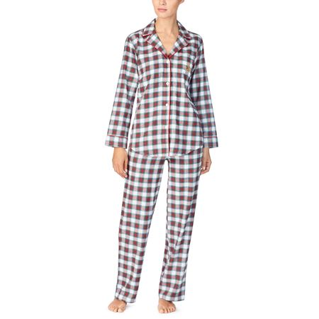 Bilde av Ralph Lauren 'NOTCH COLLAR' pysjamas, ivory paid