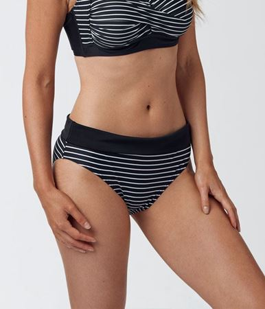Bilde av Abecita 'WILD IN STRIPE' bikinitruse, black/white