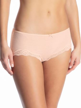 Bilde av Calida 'RICHESSE LACE' panty, lace parfait pink