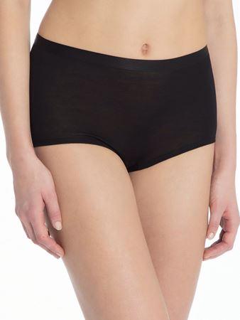 Bilde av Calida 'TRUE CONFIDENCE' ull/silke panty, black