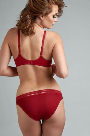 Bilde av Marlies Dekkers 'SPACE ODYSSEY' brazilian short, lurex red
