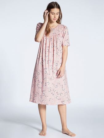 Bilde av Calida 'SOFT COTTON' nattkjole, silver pink