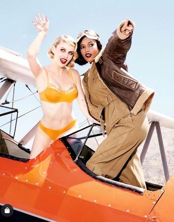 Bilde av Marlies Dekkers 'FREE LOVE' balconette BH, orange