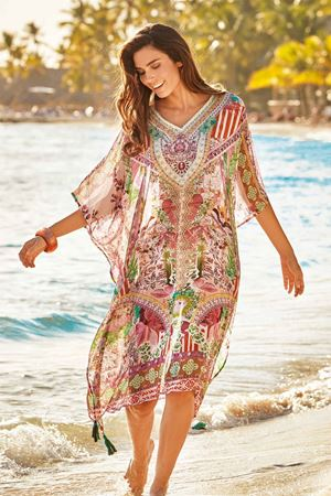 Bilde av Iconique kaftan, multi
