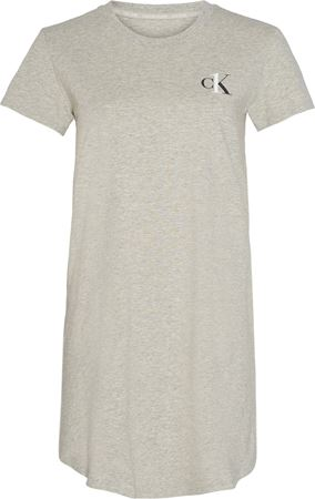 Bilde av Calvin Klein 'ONE LOUNGE JERSEY' nattkjole, grey heather