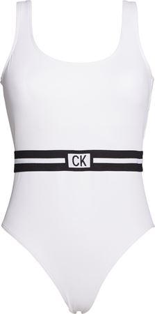 Bilde av Calvin Klein 'CORE RESET-S' badedrakt, white