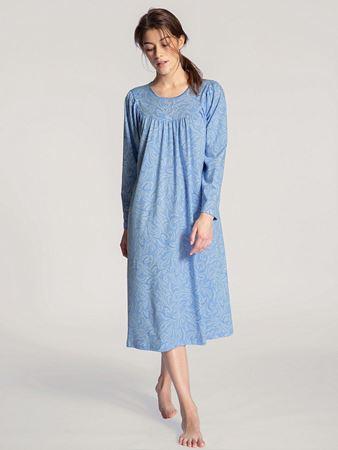 Bilde av Calida 'SOFT COTTON' nattkjole, clear blue