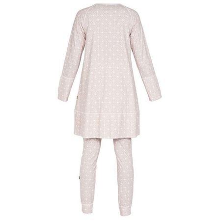Bilde av Lilleba 'GJERTRUD' pysjamas, vaffel rosa
