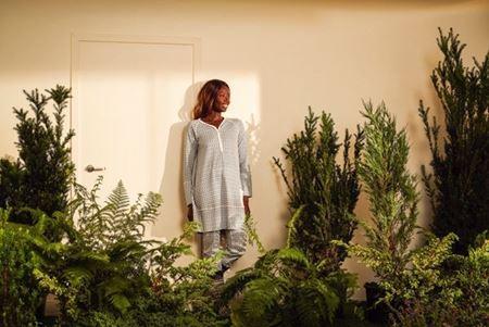 Bilde av Lilleba 'GJERTRUD' pysjamas, etikette blå