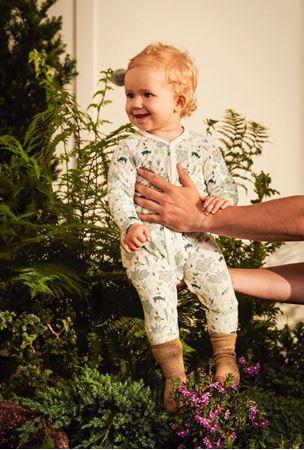 Bilde av Lilleba 'TUVA' pysjamas, harmoni grønn