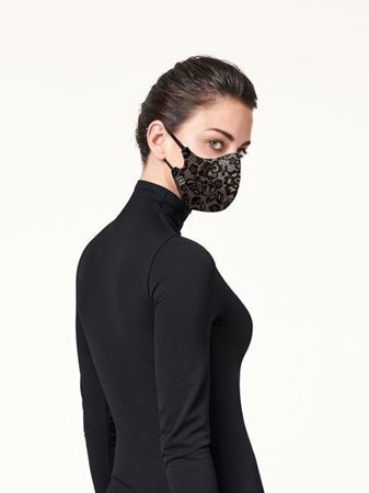 Bilde av Woldford 'CARE MASK' munnbind, black