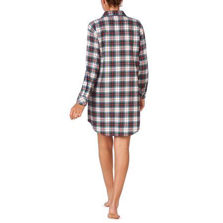 Bilde av Ralph Lauren 'HIS SHIRT' nattskjorte, ivory plaid