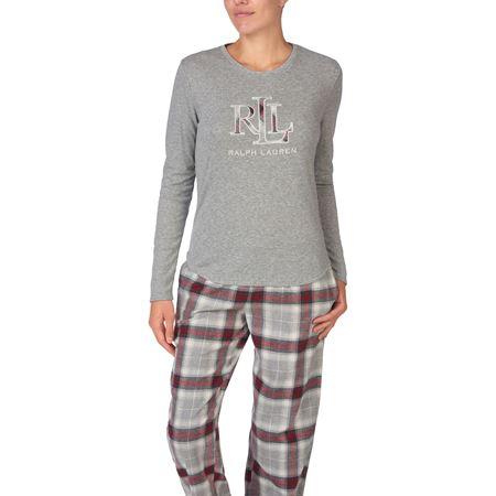 Bilde av Ralph Lauren 'PJ' pysjamas, grey plaid