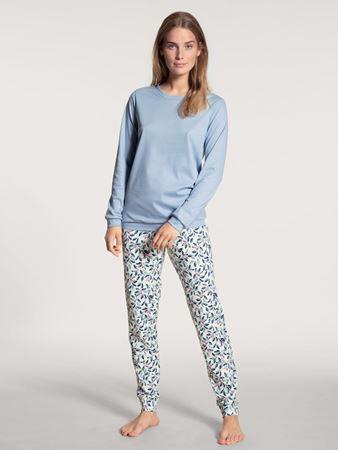Bilde av Calida 'DAYLIGHT DREAMS' pysjamas, blue fog