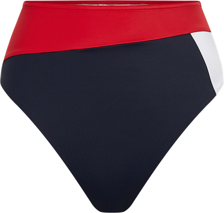 Bilde av Tommy Hilfiger 'HIGH WAIST' bikinitruse, primary red