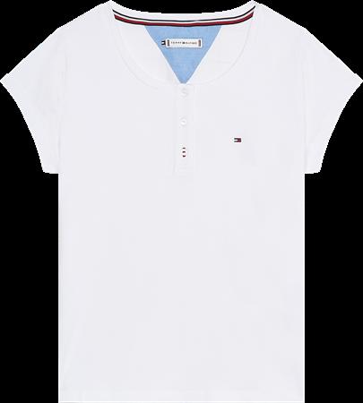 Bilde av Tommy Hilfiger 'S/S T-SHIRT' t-skjorte, white